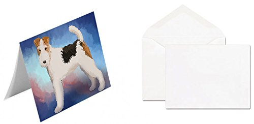 Wire Hair Fox Terrier Dog Greeting Card