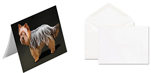 Yorkshire Terrier Dog Note Card