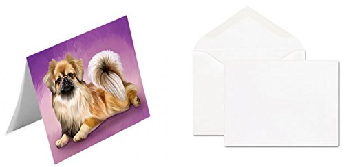 Tibetan Spaniel Dog Greeting Card