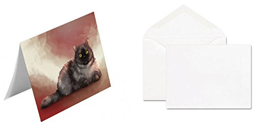 Selkirk Rex Cat Greeting Card GCD48312