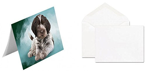 Wirehaired Pointing Griffon Dog Greeting Card