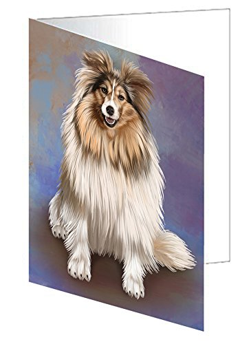 Shetland Sheepdogs Adult Dog Note Card