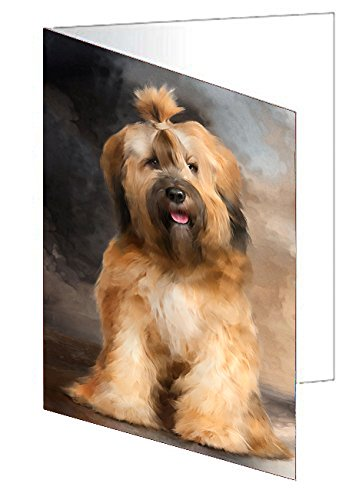 Tibetan Terrier Dog Greeting Card