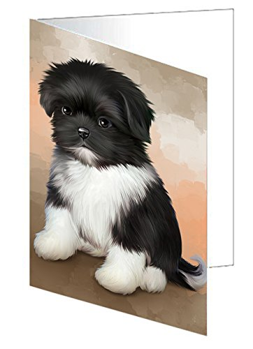 Shih Tzu Dog Greeting Card
