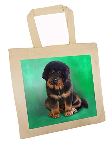 Tibetan Mastiff Puppy Dog Tote Bag