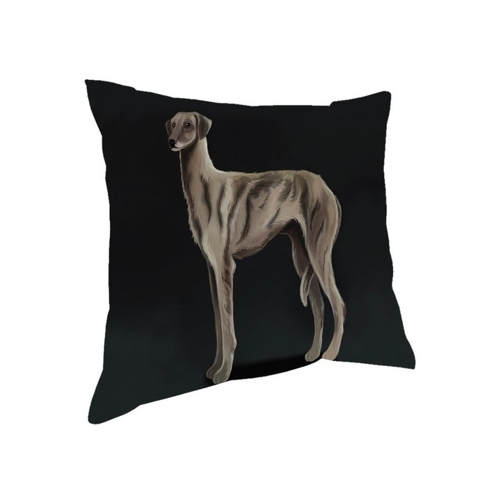 Sloughi Dog Throw Pillow