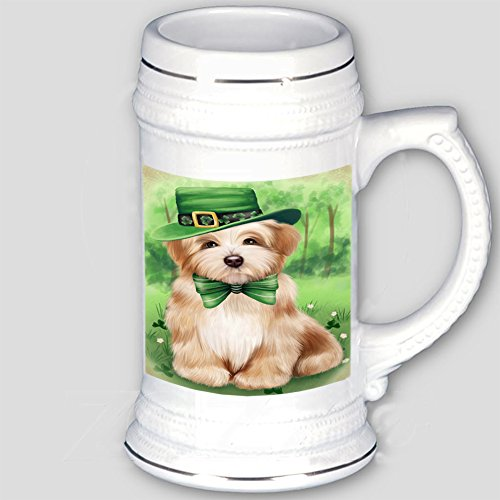 St. Patricks Day Irish Portrait Havanese Dog Beer Stein BST480682