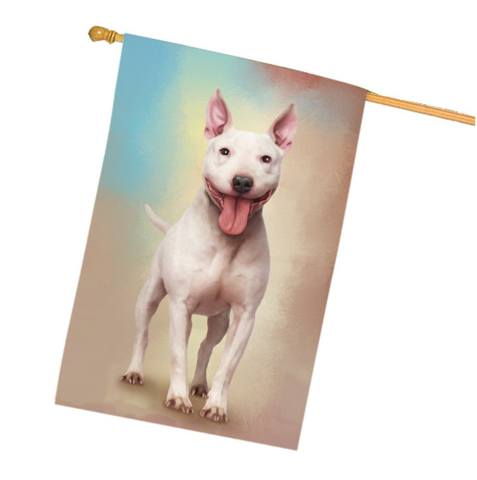 Staffordshire Bull Terrier Dog House Flag