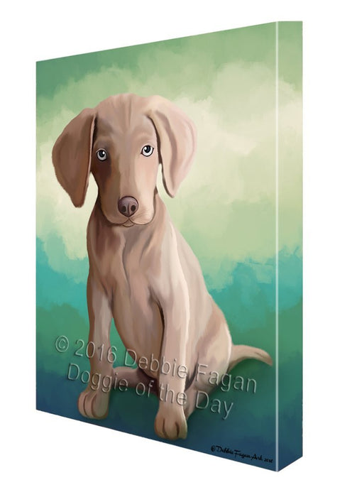 Weimaraner Dog Canvas Wall Art