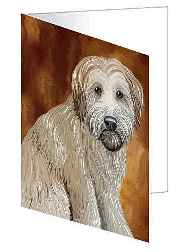 Wheaten Terrier Dog Greeting Card