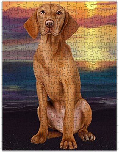 Vizsla Dog Puzzle with Photo Tin D556