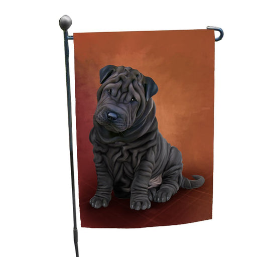 Shar Pei Dog Garden Flag