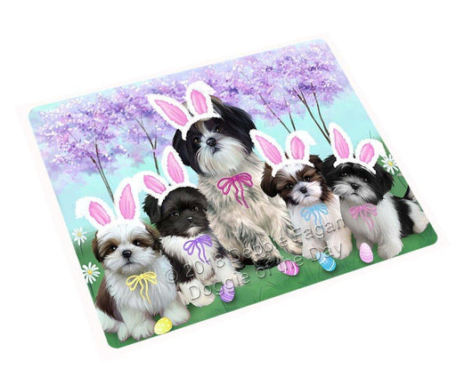 "Shih Tzus Dog Easter Holiday Magnet Small (5.5"" x 4.25"") mag52077"