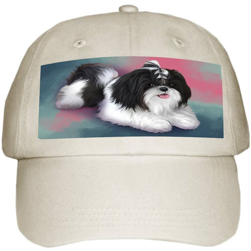 Shih Tzu Dog Ball Hat Cap HAT48114