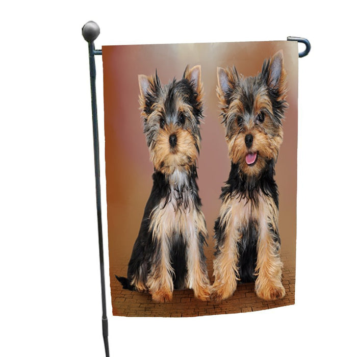 Yorkshire Terrier Dog Garden Flag