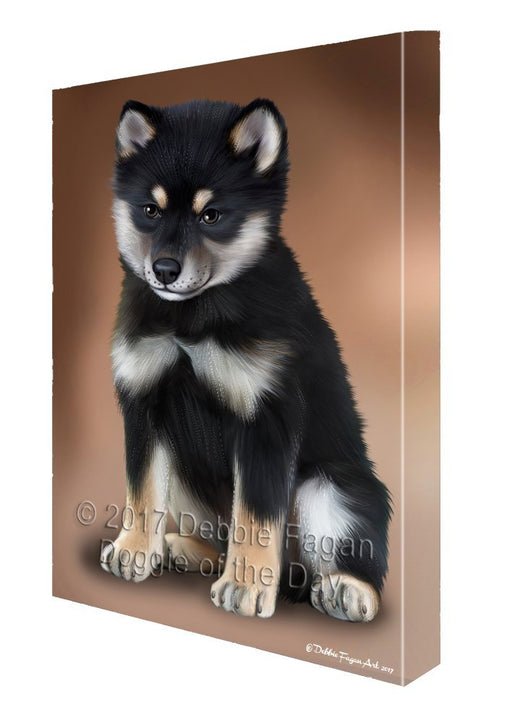Shiba Inu Dog Canvas Wall Art D476