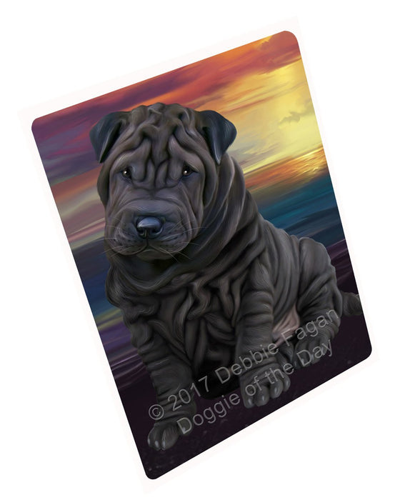 "Shar Pei Dog Magnet Small (5.5"" x 4.25"")"