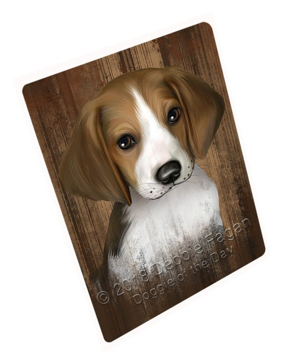 Rustic Treeing Walker Coonhound Dog Tempered Cutting Board C52623
