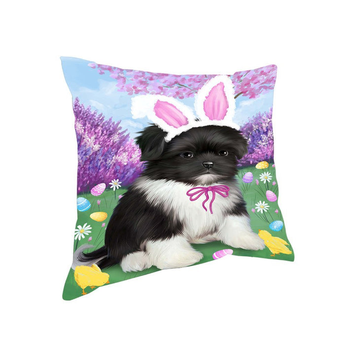 Shih Tzu Dog Easter Holiday Pillow PIL53472