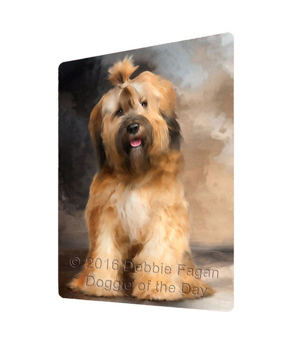 "Tibetan Terrier Dog Magnet Mini (3.5"" x 2"")"