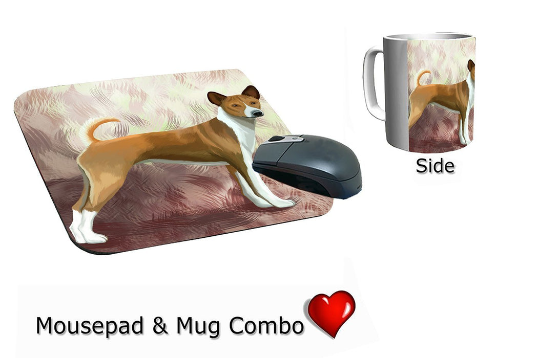 Telomian Puppy Dog Mug & Mousepad Combo Gift Set