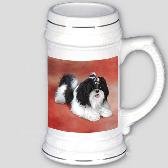Shih Tzu Dog Beer Stein