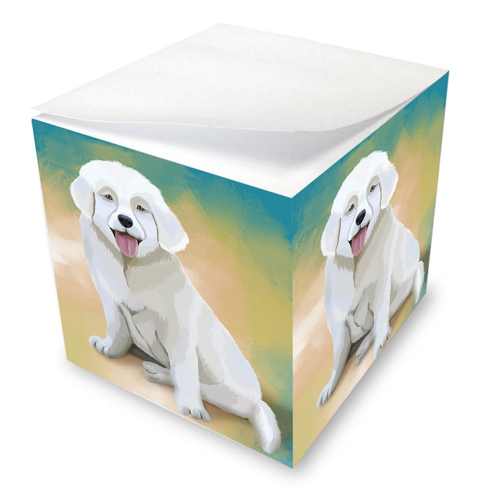 Slovensky Cuvac Puppy Note Cube NOC48128