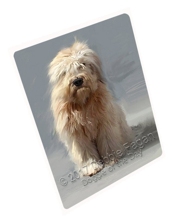 Wheatenterrier Dog Large Refrigerator / Dishwasher Magnet D367