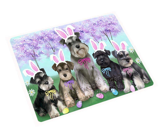 "Schnauzers Dog Easter Holiday Magnet Small (5.5"" x 4.25"") mag52008"