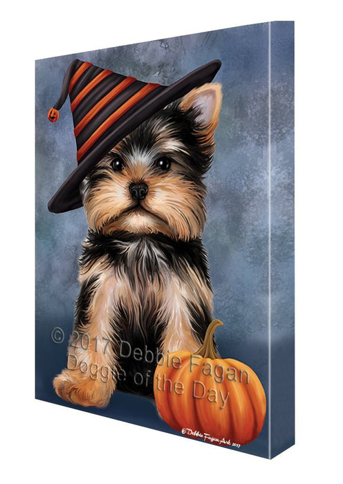 Yorkshire Terrier Dog Canvas Wall Art CV386