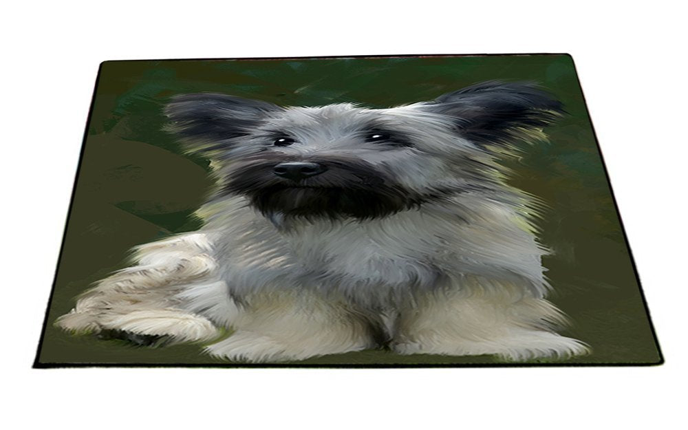 Skye Terrier Dog Indoor/Outdoor Floormat D202