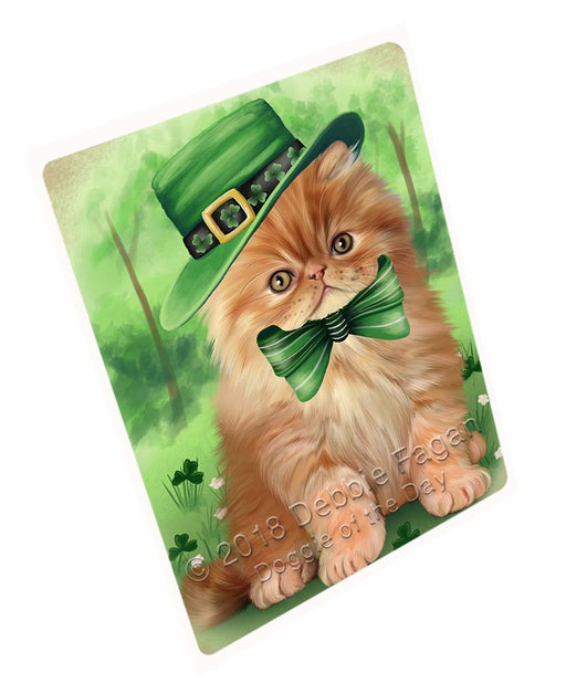 St. Patricks Day Irish Portrait Persian Cat Magnet MAG51507