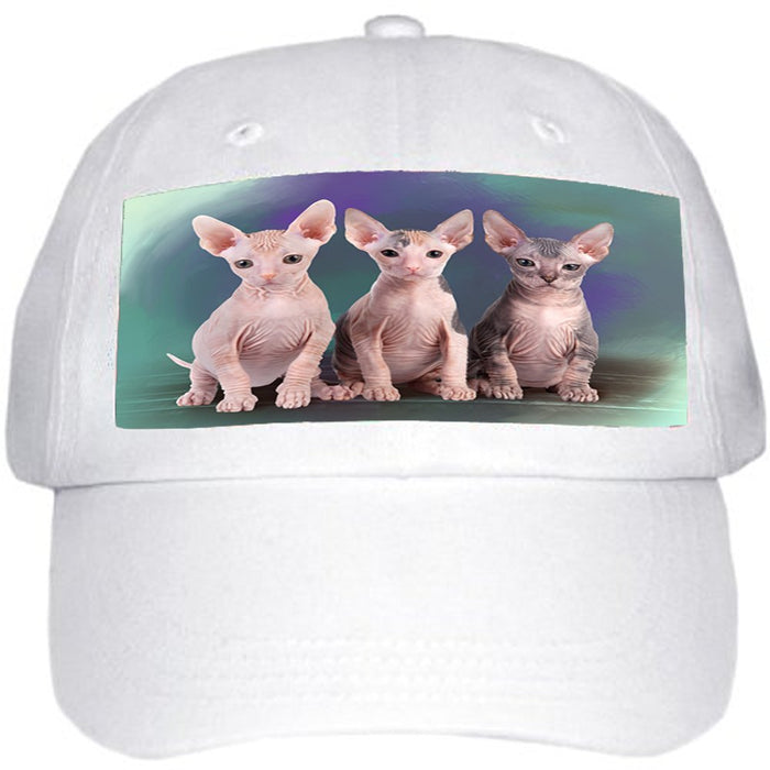 Sphynx Cat Ball Hat Cap