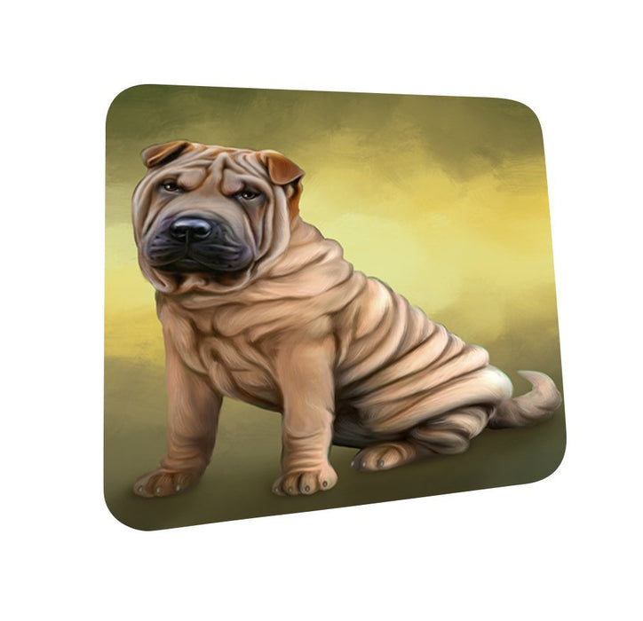 Shar Pei Dog Coasters Set of 4 CST48065