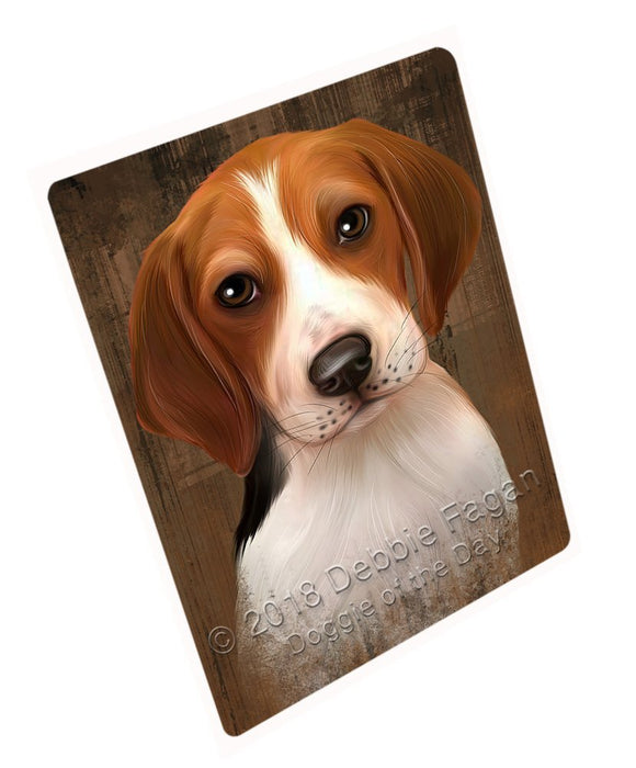 Rustic Treeing Walker Coonhound Dog Tempered Cutting Board C52629