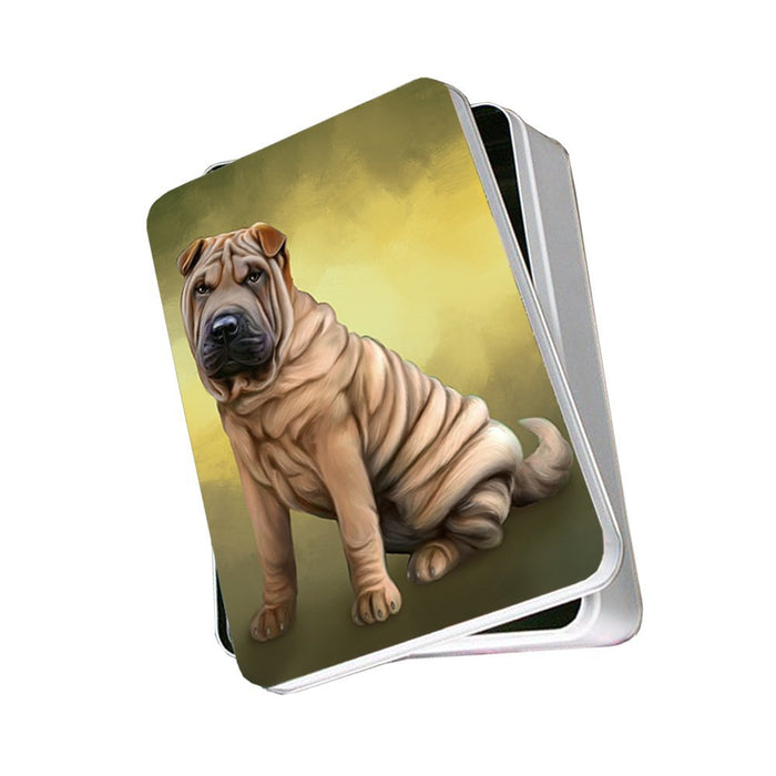 Shar Pei Dog Photo Storage Tin PITN48106