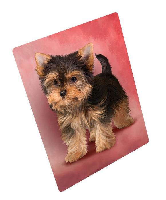 "Yorkshire Terrier Puppy Dog Magnet Mini (3.5"" x 2"")"