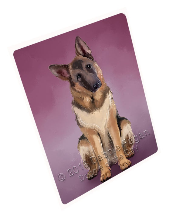 "German Shepherds Dog Magnet Mini (3.5"" x 2"") MG050"