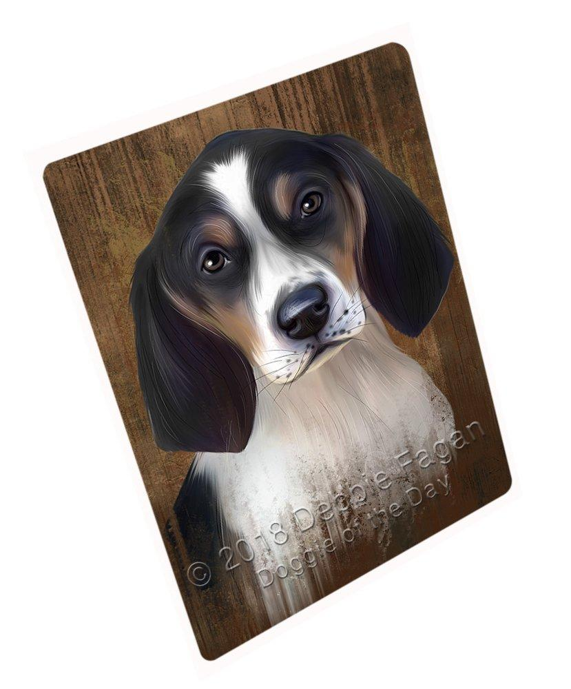"Rustic Treeing Walker Coonhound Dog Magnet Small (5.5"" x 4.25"") mag52620"