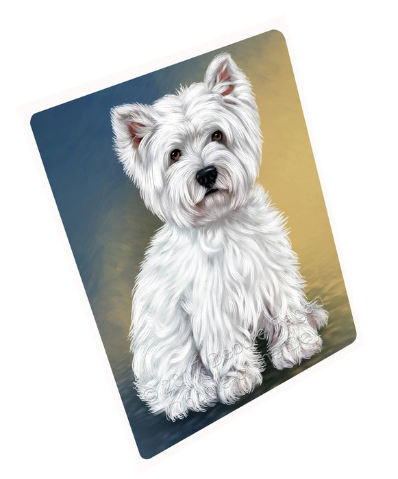 West Highland Terriers Puppy Dog Magnet