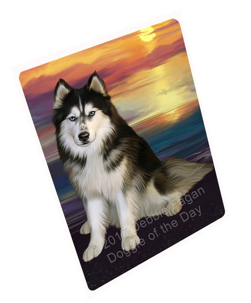 "Siberian Husky Dog Magnet Mini (3.5"" x 2"")"