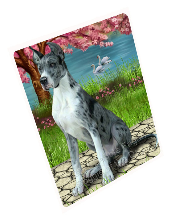"Great Dane Dog Magnet Mini (3.5"" x 2"")"