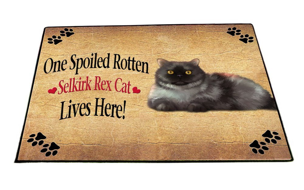 Spoiled Rotten Selkirk Rex Dog Indoor/Outdoor Floormat