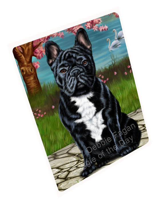 "French Bulldogs Dog Magnet Small (5.5"" x 4.25"")"