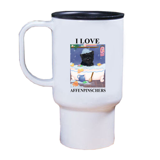 Rub A Dub Dog In A Tub Affenpinscher Dog Travel Mug TRAV52512
