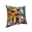 Scenic Waterfall Airedale Terrier Dog Pillow PIL56640