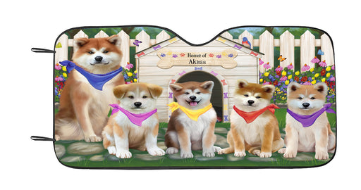 Spring Dog House Akita Dogs Car Sun Shade