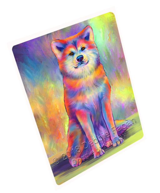 Paradise Wave Akita Dog Cutting Board C75186
