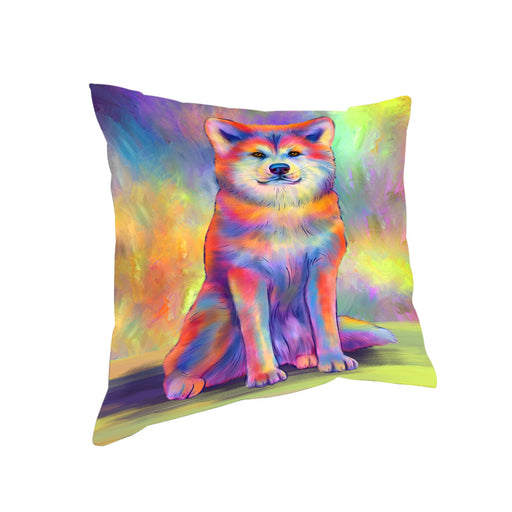 Paradise Wave Akita Dog Pillow PIL81024