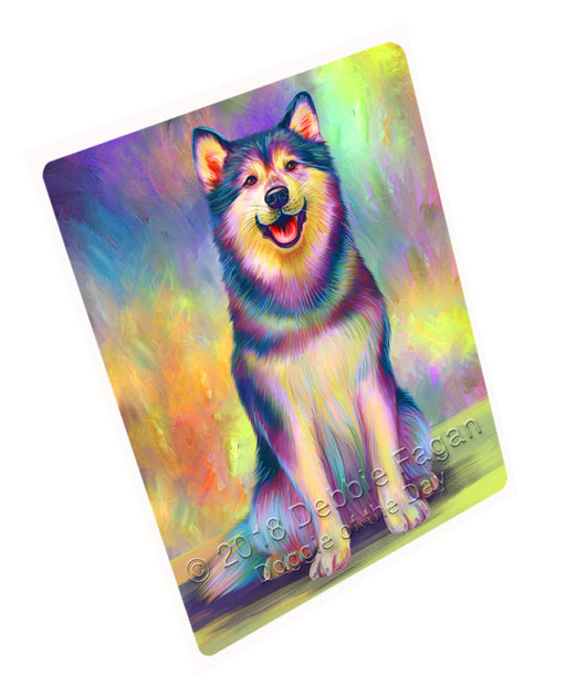 Paradise Wave Alaskan Malamute Dog Cutting Board C75189